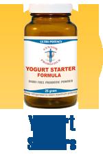 Yogurt Starters by Custom Probiotics